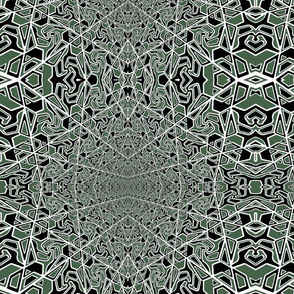 green and black pattern