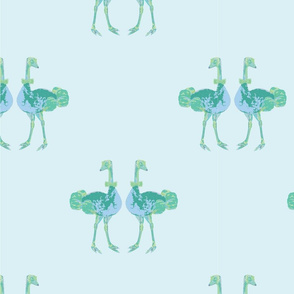 Oxford Ozzie Ostrich