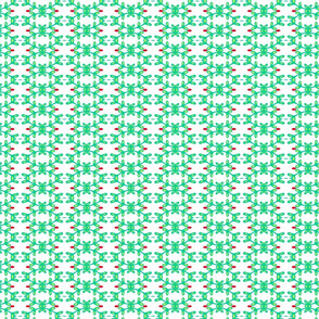 Leafy pattern -light green