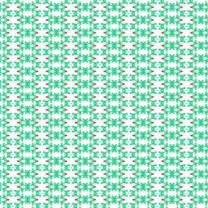 Leafy pattern -light green