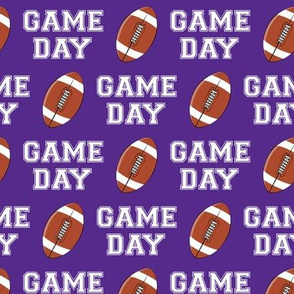 GAME DAY - purple - college football - LAD19
