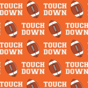 Touch Down - orange - college football - LAD19
