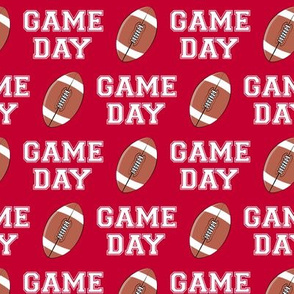 GAME DAY - red - college football - LAD19
