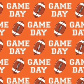 GAME DAY - orange - college football - LAD19