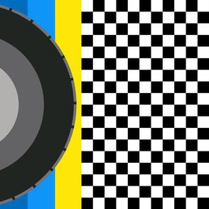 race-flag_blue_yellow