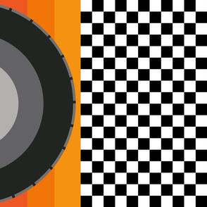 race_flag_orange_red