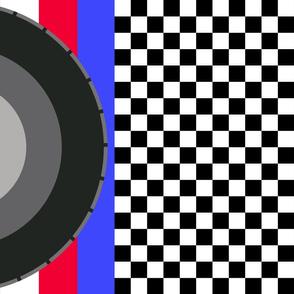 race-flag red-white_blue