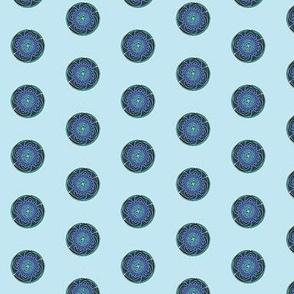 amazing blue spot one inch