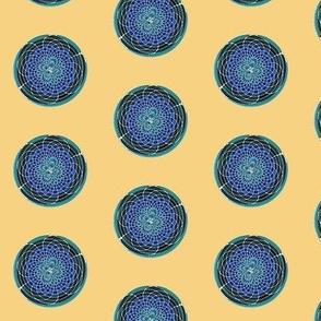 amazing circle blue 2   -