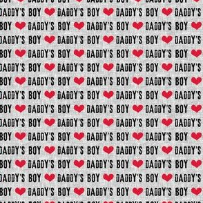 (micro scale) Daddy's Boy - C19BS