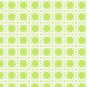 Star Trellis in Bright Lime