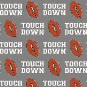 Football - Touch Down - grey - LAD19