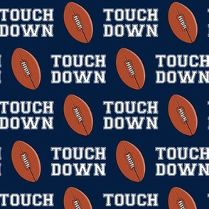 Football - Touch down - navy - LAD19