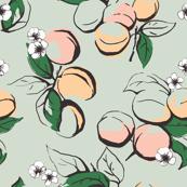 Apricot-green