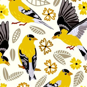 Goldfinches  (Large Version)