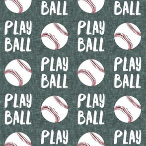Play ball - baseball - green - LAD19