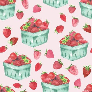 Strawberry Picking // Amour Pink