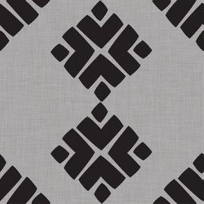 gray aztec