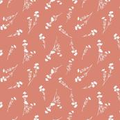 Wild Flowers (peach)
