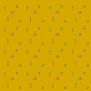 Dreiecke auf Amber
