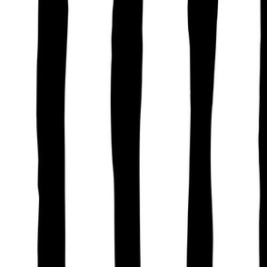 Vertical stripes and beams abstract stripes trend modern minimal design summer bikini monochrome black and white JUMBO