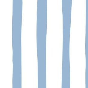 Vertical stripes and beams abstract stripes trend modern minimal design summer bikini baby blue JUMBO