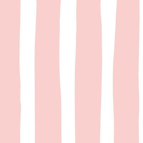Vertical stripes and beams abstract stripes trend modern minimal design summer bikini pastel pink JUMBO