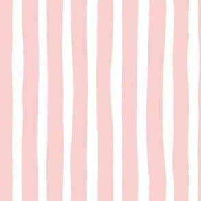 Vertical stripes and beams abstract stripes trend modern minimal design summer bikini pastel pink