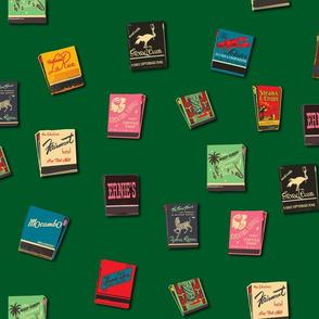 Matchbooks Racing Green