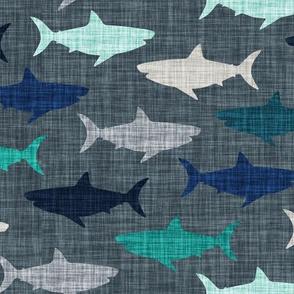 linen sharks // on 174-15 linen