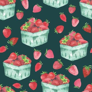 Strawberry Picking // Teal