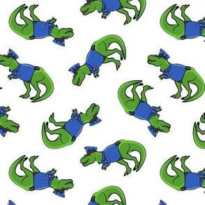 Police Trex - Dinosaur - LAD19
