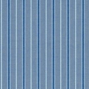 Chambray Blue Stripes