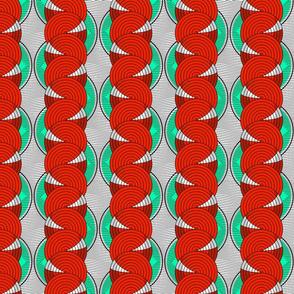 african_pattern_circles_turquoise_designedbypereira