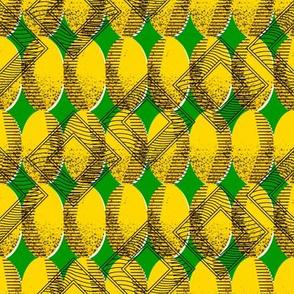 african_pattern_golden_egg_green_designedbypereira