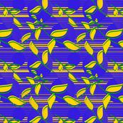 african_pattern_leaves_blue_designedbypereira