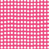 Wavy Dots in Watermelon