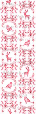 reindeer embroidery