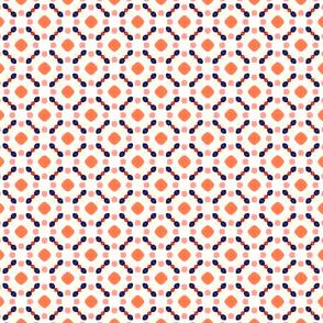 retro dotty pattern