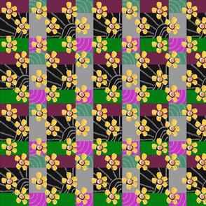 FLOWERY GEOMETRIC TWO