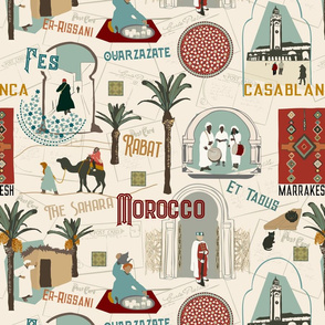 Vintage Postcard - Morocco
