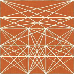 Chalk Strings - persimmon