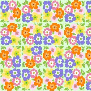 FLOWERY SPRING GARDEN  THREE