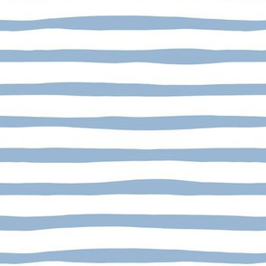 Horizontal stripes and beams abstract stripes trend modern minimal design summer bikini baby blue