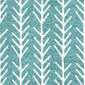 Large Tribal Pattern (heather island blue) Home Decor Bedding, GingerLous