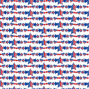 Patriotic Stars Small