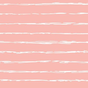 Raw horizontal Inky stripes minimal Scandinavian style trend abstract print summer fall pink