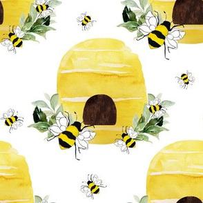 "8"" Beehive White"