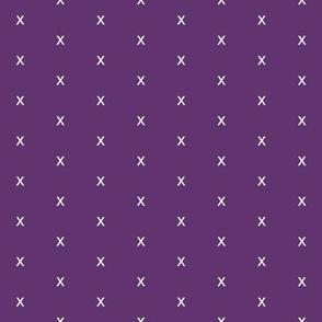 Purple Xs