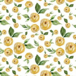 "4"" Yellow Roses"